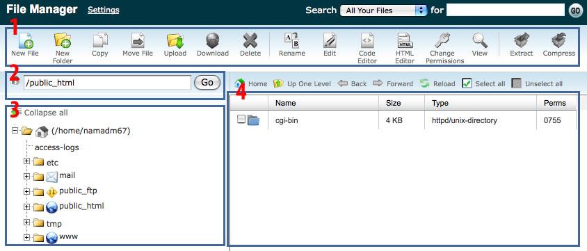 File Manager Utama