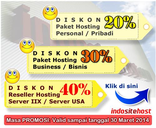 kupon diskon promosi hosting