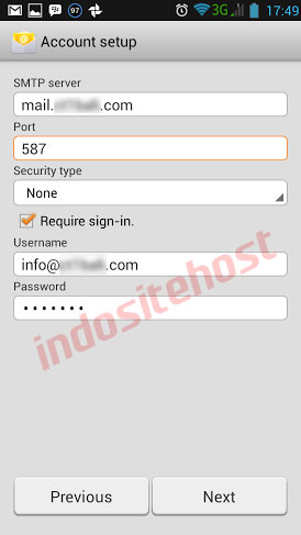 SMTP Server android