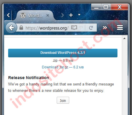 upgrade wordpress download