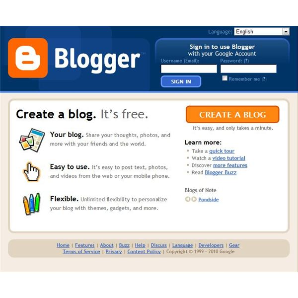 Membuat website gratis di Blogger