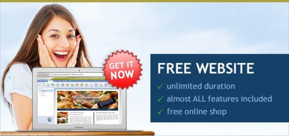 Membuat website gratis