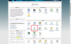 Email Filter di Cpanel