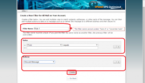 Email Filter di Cpanel3