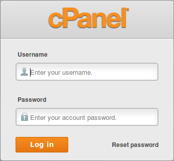 Update Password Cpanel 2